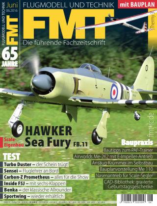 FMT - FLUGMODELL UND TECHNIK 06/2016