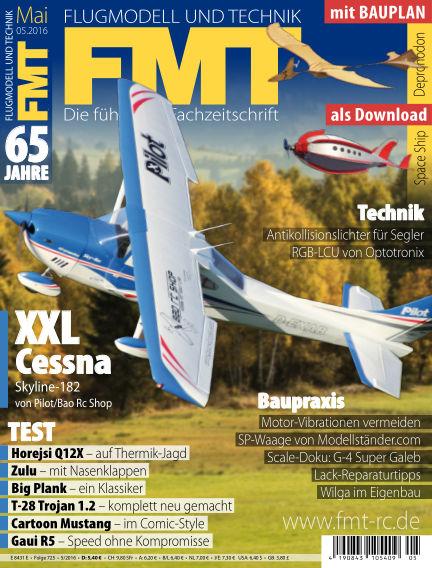FMT - FLUGMODELL UND TECHNIK April 28, 2016 00:00