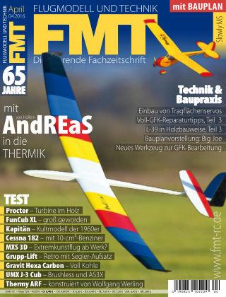 FMT - FLUGMODELL UND TECHNIK 04/2016