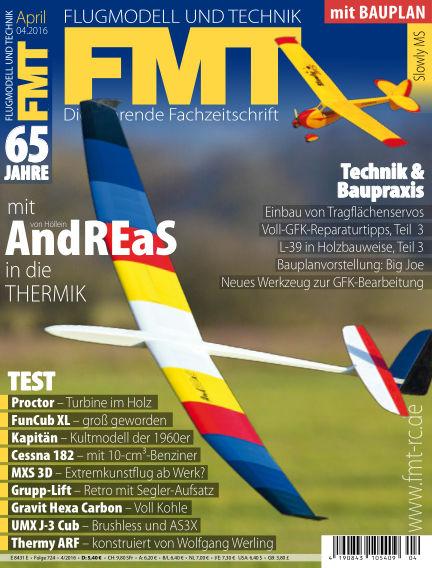 FMT - FLUGMODELL UND TECHNIK March 23, 2016 00:00