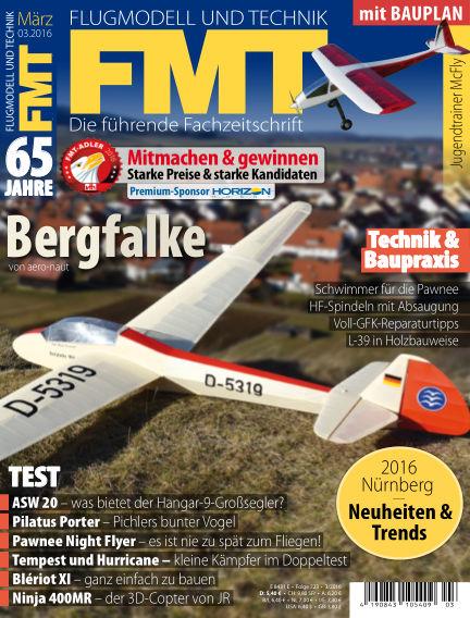 FMT - FLUGMODELL UND TECHNIK February 25, 2016 00:00