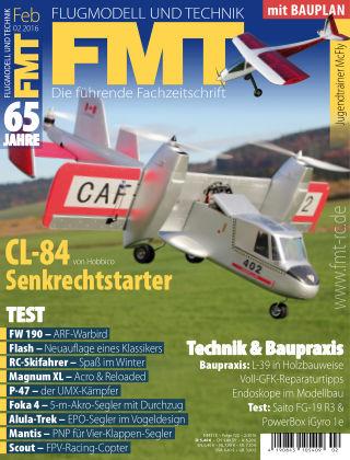 FMT - FLUGMODELL UND TECHNIK 02/2016