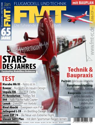 FMT - FLUGMODELL UND TECHNIK 01/2016