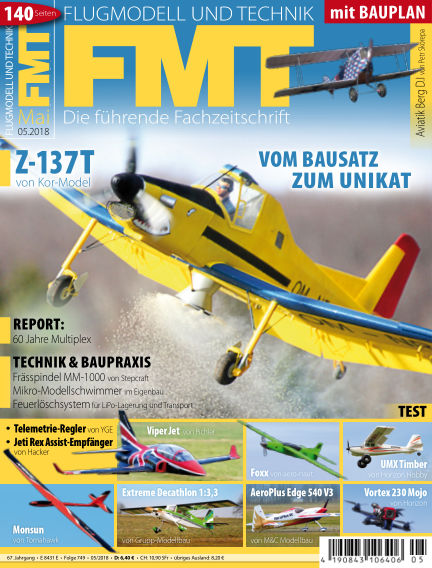 FMT - FLUGMODELL UND TECHNIK April 26, 2018 00:00