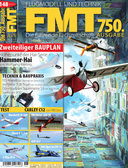 FMT - FLUGMODELL UND TECHNIK May 24, 2018 00:00