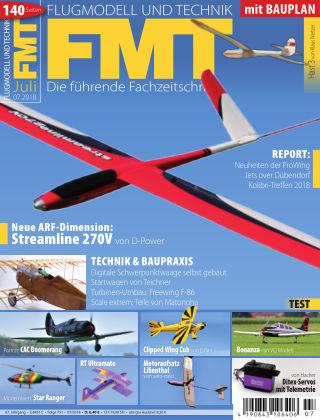 FMT - FLUGMODELL UND TECHNIK 07/2018