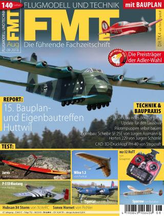 FMT - FLUGMODELL UND TECHNIK 08/2018