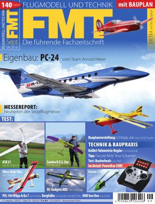 FMT - FLUGMODELL UND TECHNIK 09/2018