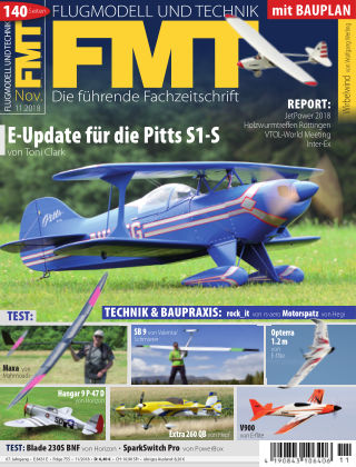 FMT - FLUGMODELL UND TECHNIK 11/2018
