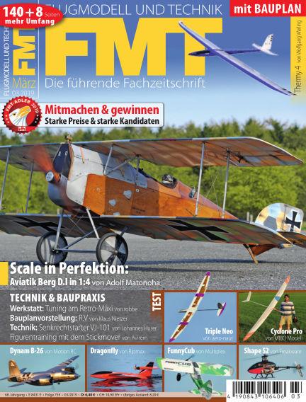 FMT - FLUGMODELL UND TECHNIK February 28, 2019 00:00