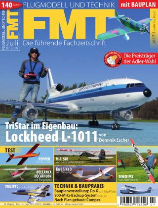 FMT - FLUGMODELL UND TECHNIK 07/2019