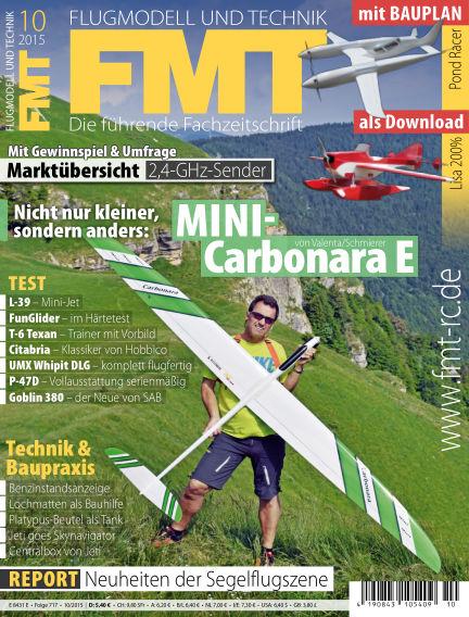 FMT - FLUGMODELL UND TECHNIK August 20, 2015 00:00