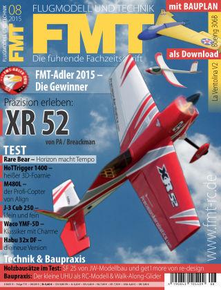 FMT - FLUGMODELL UND TECHNIK 08/2015
