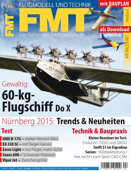 FMT - FLUGMODELL UND TECHNIK March 05, 2015 00:00
