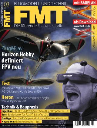 FMT - FLUGMODELL UND TECHNIK 03/2015