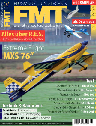 FMT - FLUGMODELL UND TECHNIK 02/2015