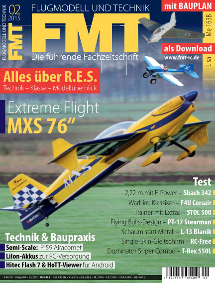 FMT - FLUGMODELL UND TECHNIK January 08, 2015 00:00