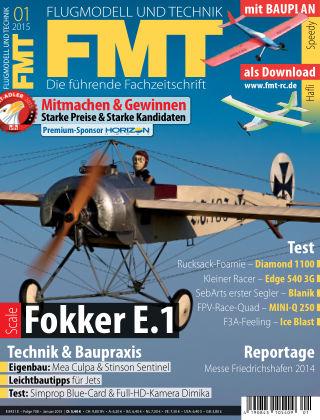 FMT - FLUGMODELL UND TECHNIK 01/2015
