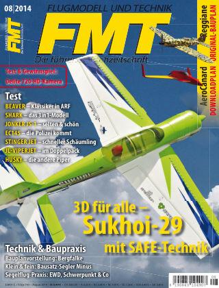 FMT - FLUGMODELL UND TECHNIK 08/2014