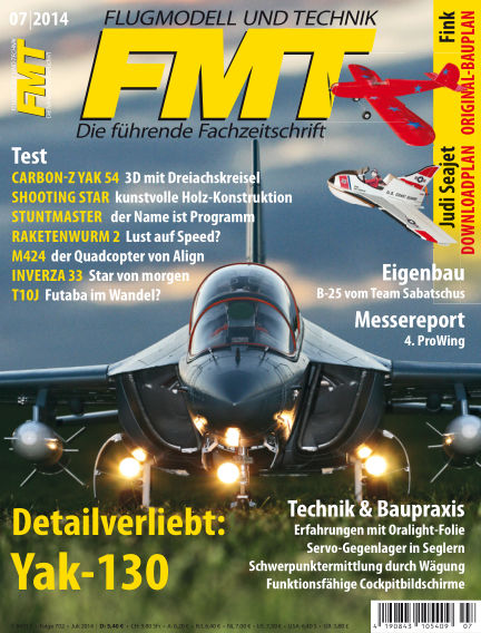 FMT - FLUGMODELL UND TECHNIK June 12, 2014 00:00