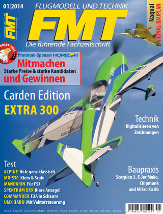 FMT - FLUGMODELL UND TECHNIK 01/2014