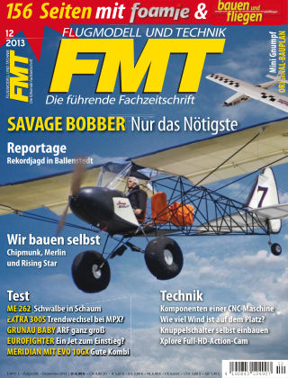 FMT - FLUGMODELL UND TECHNIK 12/2013