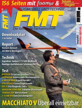 FMT - FLUGMODELL UND TECHNIK 11/2013