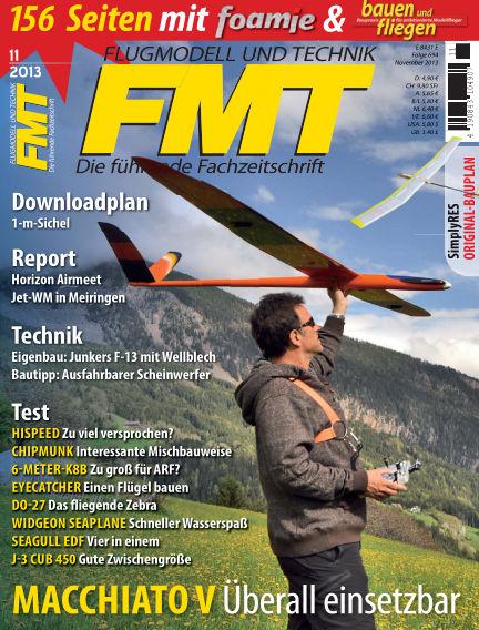 FMT - FLUGMODELL UND TECHNIK October 01, 2013 00:00