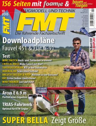 FMT - FLUGMODELL UND TECHNIK 10/2013