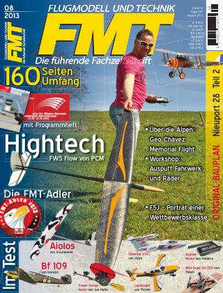 FMT - FLUGMODELL UND TECHNIK 08/2013
