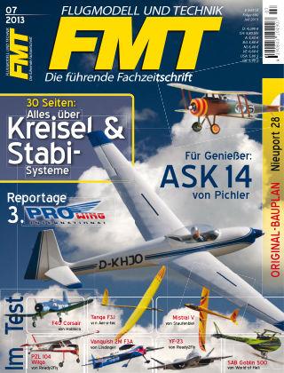 FMT - FLUGMODELL UND TECHNIK 07/2013