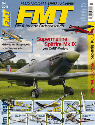 FMT - FLUGMODELL UND TECHNIK 04/2013