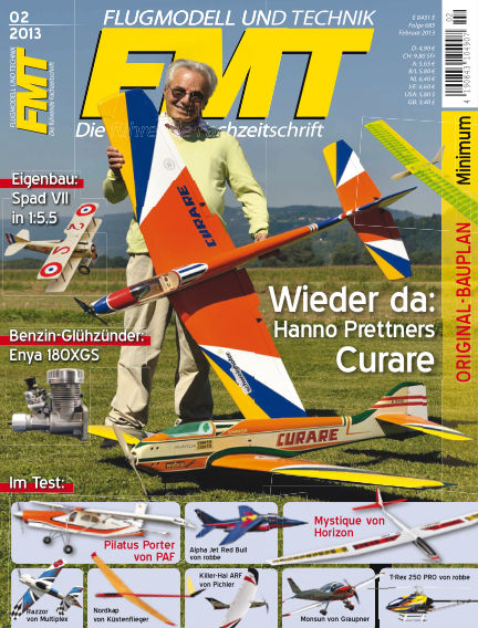 FMT - FLUGMODELL UND TECHNIK January 01, 2013 00:00