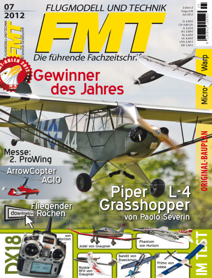FMT - FLUGMODELL UND TECHNIK June 01, 2012 00:00