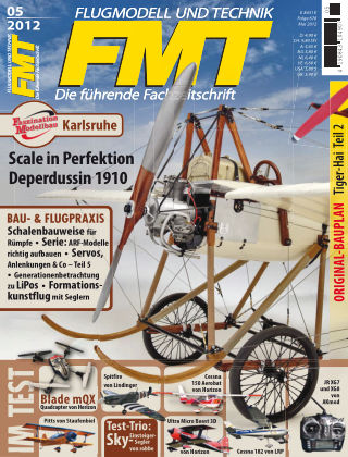 FMT - FLUGMODELL UND TECHNIK 05/2012