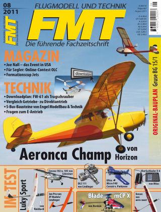 FMT - FLUGMODELL UND TECHNIK 08/2011