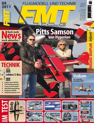 FMT - FLUGMODELL UND TECHNIK 04/2011