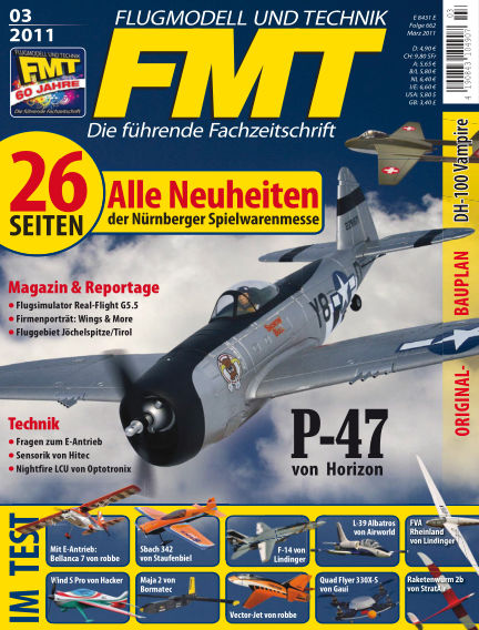 FMT - FLUGMODELL UND TECHNIK February 01, 2011 00:00