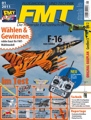FMT - FLUGMODELL UND TECHNIK 01/2011
