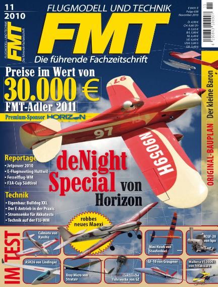 FMT - FLUGMODELL UND TECHNIK October 01, 2010 00:00