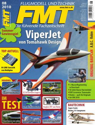 FMT - FLUGMODELL UND TECHNIK 08/2010