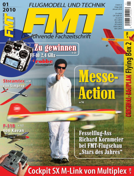 FMT - FLUGMODELL UND TECHNIK December 01, 2009 00:00