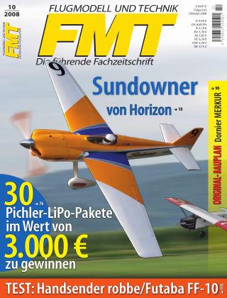 FMT - FLUGMODELL UND TECHNIK 10/2008