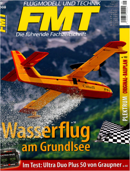 FMT - FLUGMODELL UND TECHNIK August 01, 2008 00:00