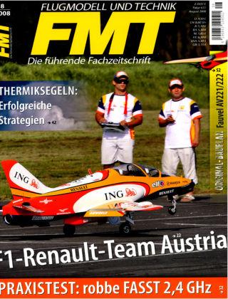 FMT - FLUGMODELL UND TECHNIK 08/2008