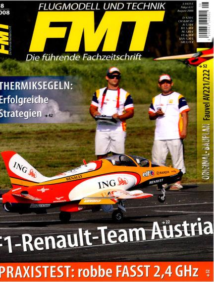 FMT - FLUGMODELL UND TECHNIK July 01, 2008 00:00