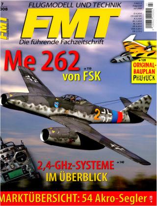 FMT - FLUGMODELL UND TECHNIK 07/2008