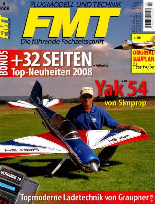 FMT - FLUGMODELL UND TECHNIK 04/2008