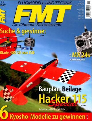 FMT - FLUGMODELL UND TECHNIK 11/2007