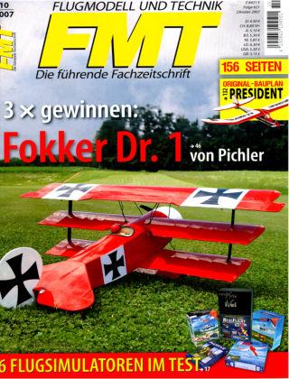 FMT - FLUGMODELL UND TECHNIK 10/2007